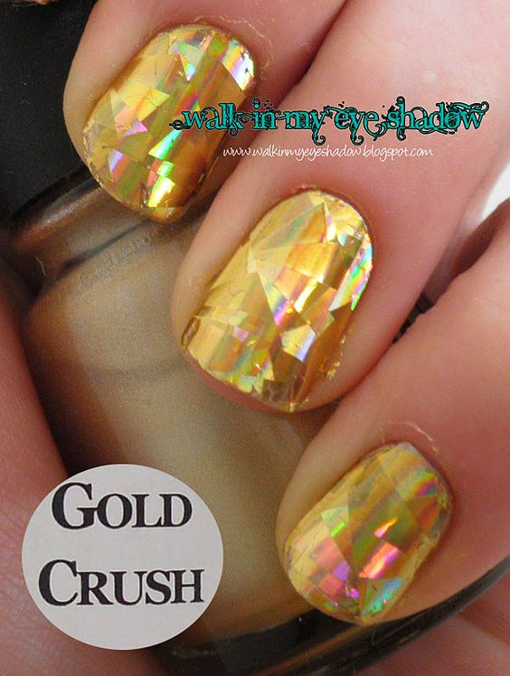 Walk In My Eye Shadow: Foil Focus Friday: Gold Crush