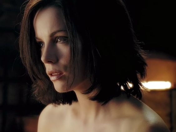 Kate Beckinsale as Selene from Underworld