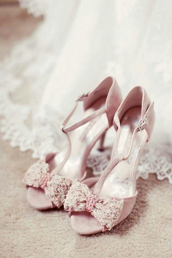 Vintage wedding shoes ♡