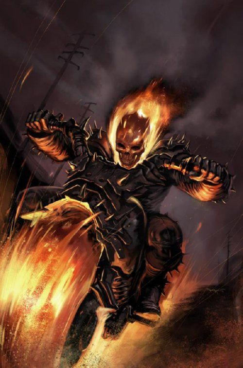 Since the newest Ghost Rider series started up, it has been lacking the fun that a comic book about a flaming skeleton riding a motorcycle should have. Description from livingbetweenwednesdays.blogspot.com. I searched for this on bing.com/images