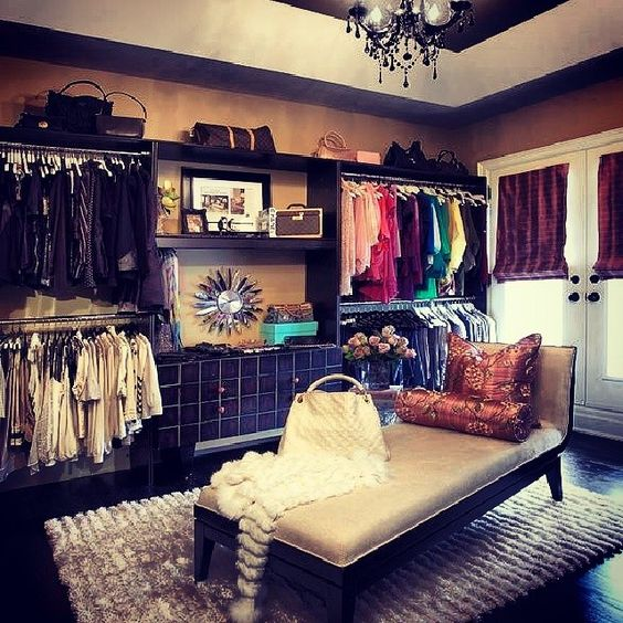 Real life inspiration converting a bedroom into a - How to turn a bedroom into a closet ...