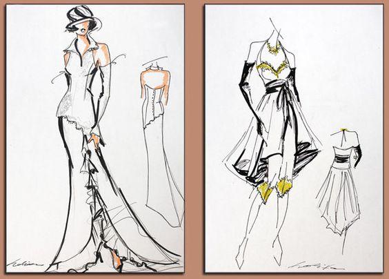dessin couleur et noir et blanc