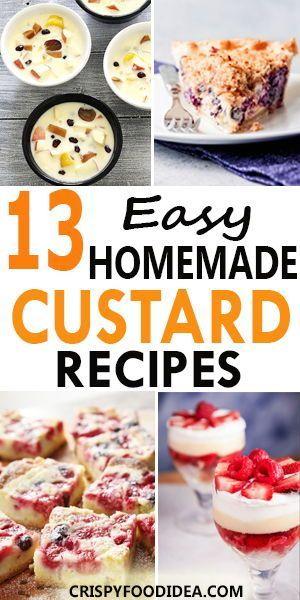 Custard Recipes