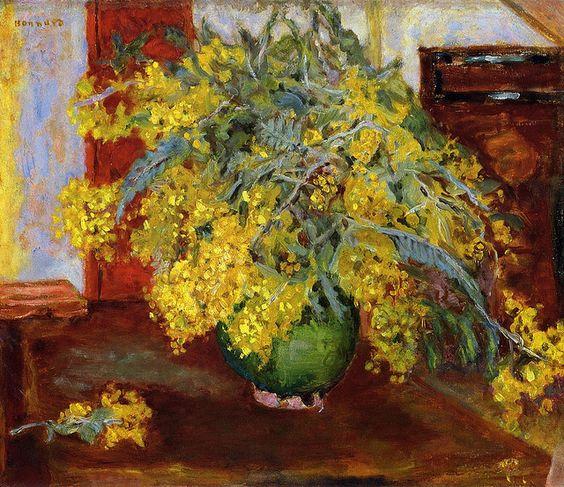 Mimosa, 1915 - Pierre Bonnard: