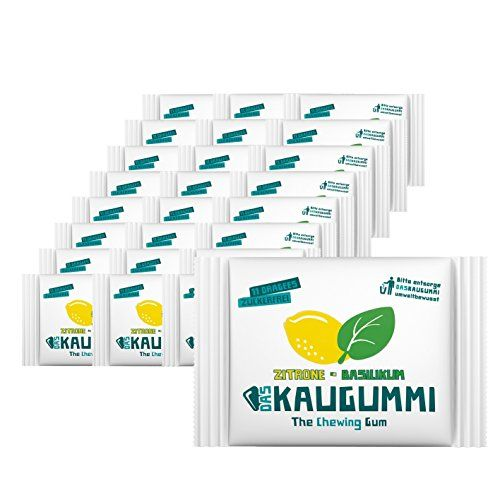 Das Kaugummi Zitrone Basilikum Bekannt Aus Die Hohle Der Lowen 25 Mal 11 Dragees Kaugummi Gummi Basilikum