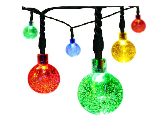 Solar Powered Colored String Lights only $5.50 Shipped!