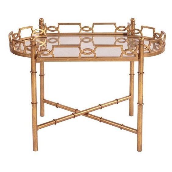 Howard Elliott Collection Mirrored End Table (¥72,025) ❤ liked on Polyvore featuring home, furniture, tables, accent tables, gold, mirrored end table, mirror accent table, mirrored glass table, mirrored furniture and mirrored glass furniture