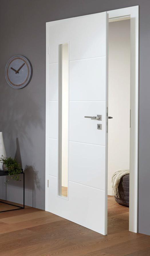 Weisse Design Rillenturen Innenturen Zimmerturen Weiss Turen Innen