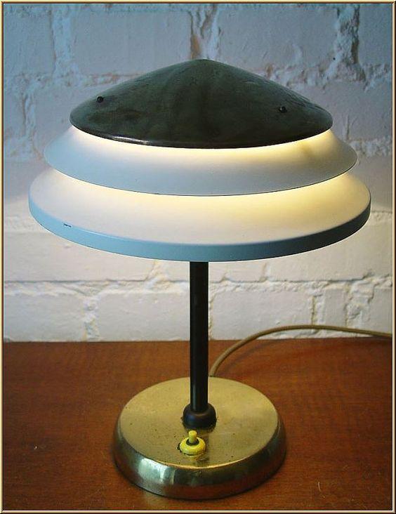 Art Deco Tischlampe  Original um 1940 von marediluce auf Etsy
