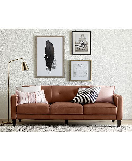 Furniture Closeout Montrose Leather Sofa Collection Created For Macy S Furniture Macy S Classic Furniture Living Room Closeout Furniture Furniture