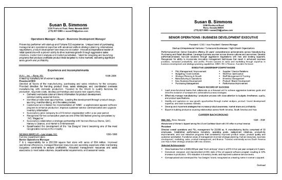 Chief Operations Officer Coo Resume Example Resume Examples Job Resume Samples Resume Template Examples