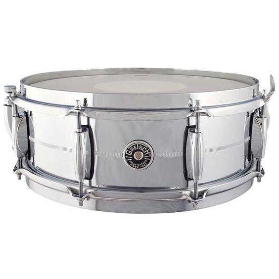 Gretsch GB4160 Brooklyn 14 x 5 Inch Chrome on Brass Snare Drum. #gretsch #snare #drum