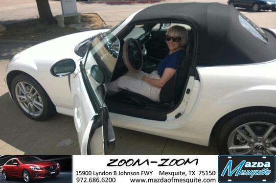 "https://flic.kr/p/tmborh | #HappyAnniversary to Josette Terry on your 2014 #Mazda #Mx-5 Miata from Everyone at Mazda of Mesquite! | <a href=""http://www.mazdaofmesquite.com/?utm_source=Flickr&utm_medium=DMaxxPhoto&utm_campaign=DeliveryMaxx"" rel=""nofollow"">www.mazdaofmesquite.com/?utm_source=Flickr&utm_medium...</a>"