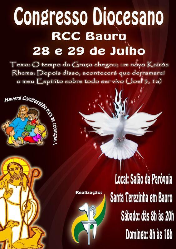 Cartaz do congresso rcc