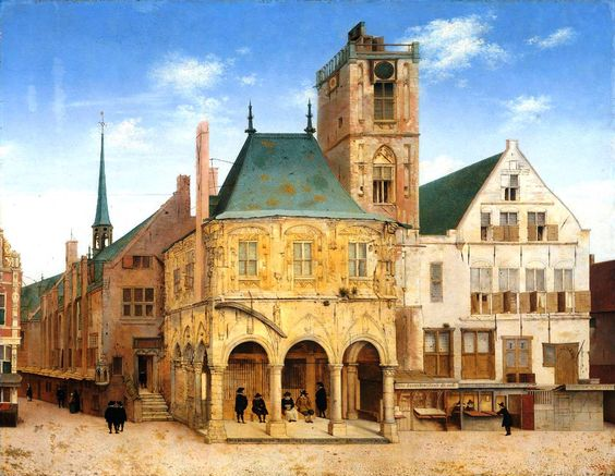 The Athenaeum - The old town hall of Amsterdam (Peter Saenredam - ) - Pre-van Campen