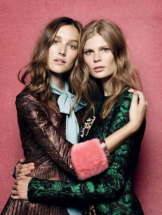 Alexandra Elizabeth, Josephine Le Tortour by Liz Collins for Vogue Turkey September 2015: