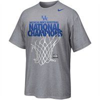 Kentucky Wildcats 2012 NCAA Men's Basketball National Champions Locker Room T-Shirt - Gray. The official locker room tee as seen on the UK players after the win!