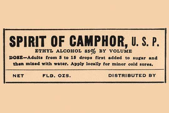 Spirit of Camphor