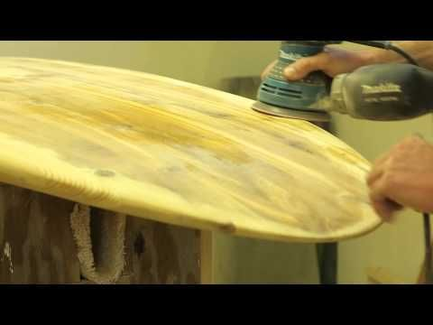 Water on Wood: Wooden Surfboard Maker Charlie Taylor - YouTube