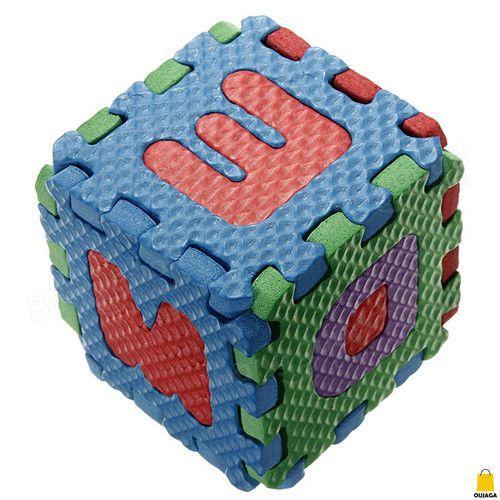 36pcs Unisex Puzzle Kid Educational Toy Alphabet Letters Numeral Foam Mat CHK