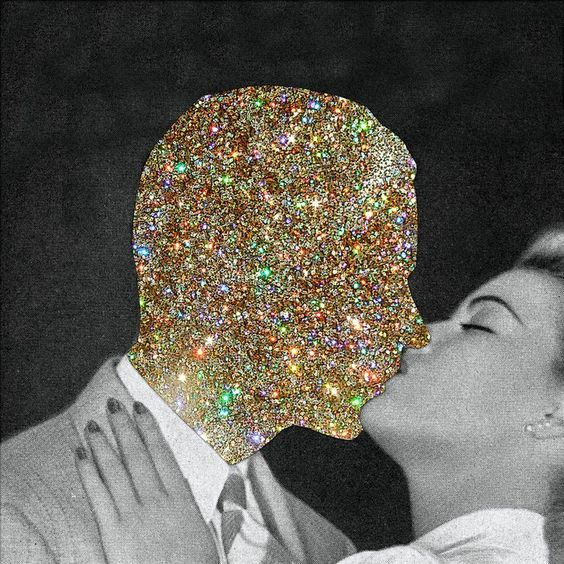 Generally how I look at men...sparkly pretty creatures...I do love glitter :)
