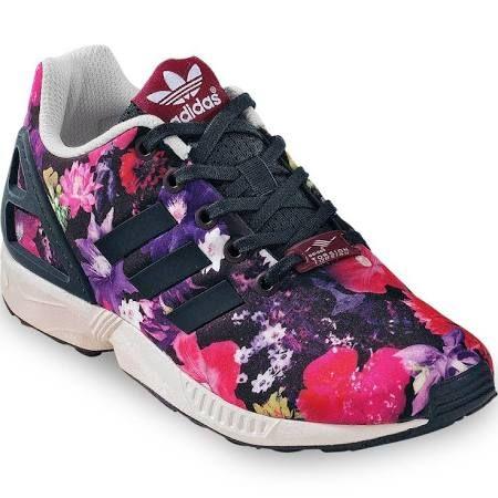 Adidas ZX Flux K Sneaker Kinder & Damen flower