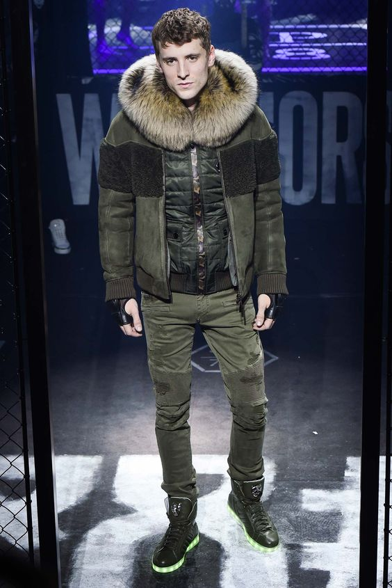 Philipp Plein Fall 2015 Menswear