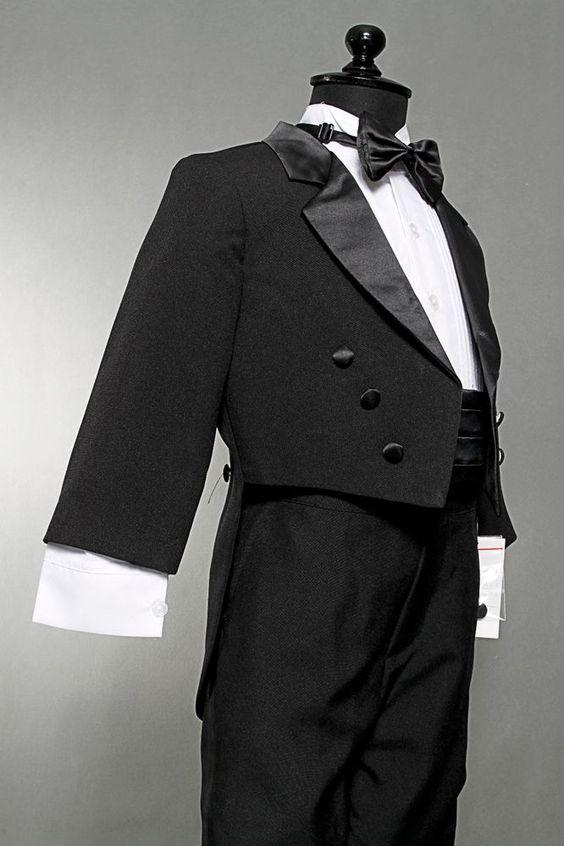 New Boy Tuxedo with tail