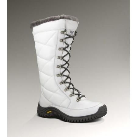 UGG Kintla Women's White Snow Boots | Shoes, shoes, and more shoes ...