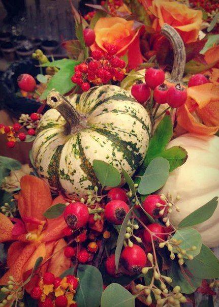 Осеннее изобилие - тыквы