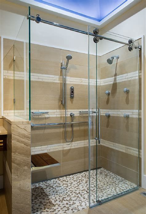 How To Replace A Sliding Glass Door Properly Accessible Bathroom