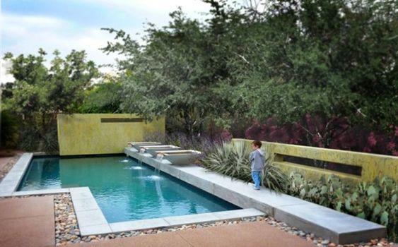 101 Bilder von Pool im Garten - bilder pool garden schwimmbecken - pool mit glaswand garten