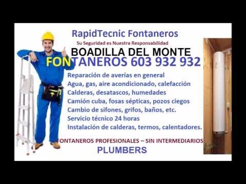 Fontaneros Boadilla Del Monte 603 932 932