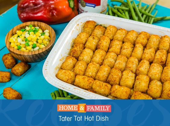 Tater Tot Hot Dish II Recipe — Dishmaps
