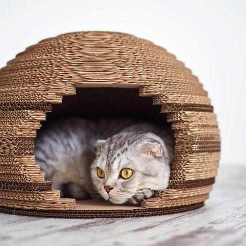 Leicht Und Kreativ Kratzbaume Fur Katzen Selber Bauen Mit Bildern