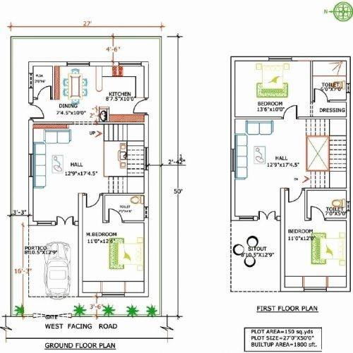 File 90599500005 20 40 Duplex House Plan Inspirational 20 X 60 House Plans House Plan In 20 60 Plot West Facing House Duplex House Plans Duplex Floor Plans