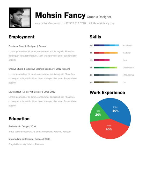 Resume templates free download, Resume template free and Templates ...
