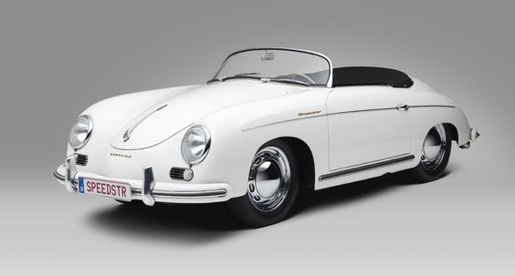 Lay Your Eyes on This Beautiful All-White 1955 Porsche 356. The textbook…