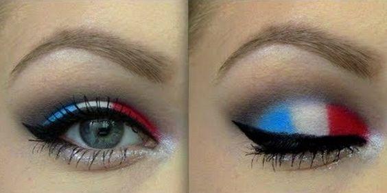 striped eyeshadow - Google Search