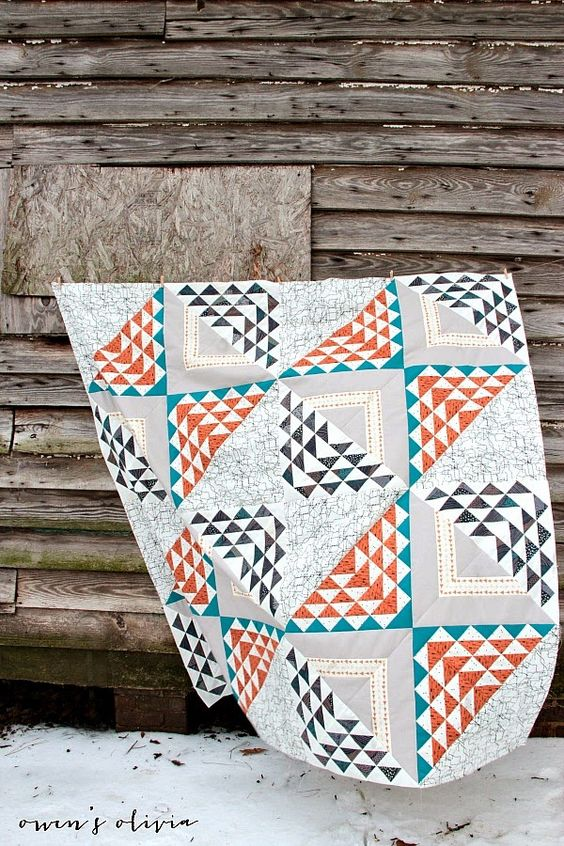Owen s olivia birchen quilt top for fat quarter shop art gallery