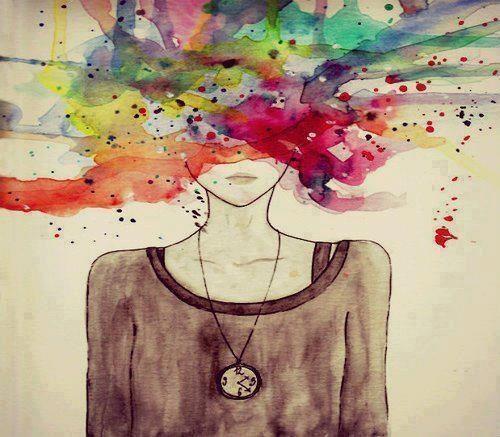 Image result for exploding head girl pinterest