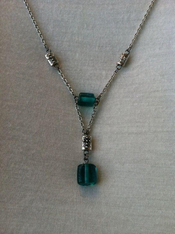 Handmade Jewelry - Dickies Blue