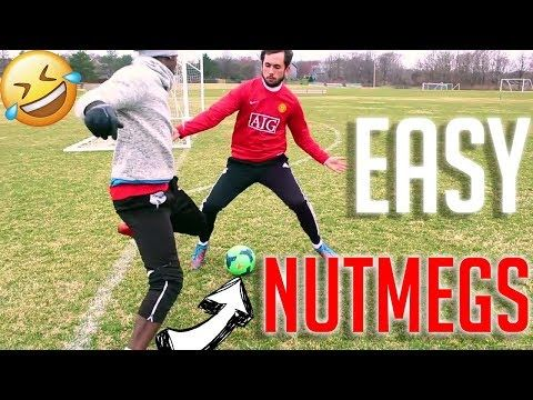 5 Easy Nutmegs Best Way To Nutmeg Panna Your Opponent Youtube In 2020 Free Football Soccer Team Football