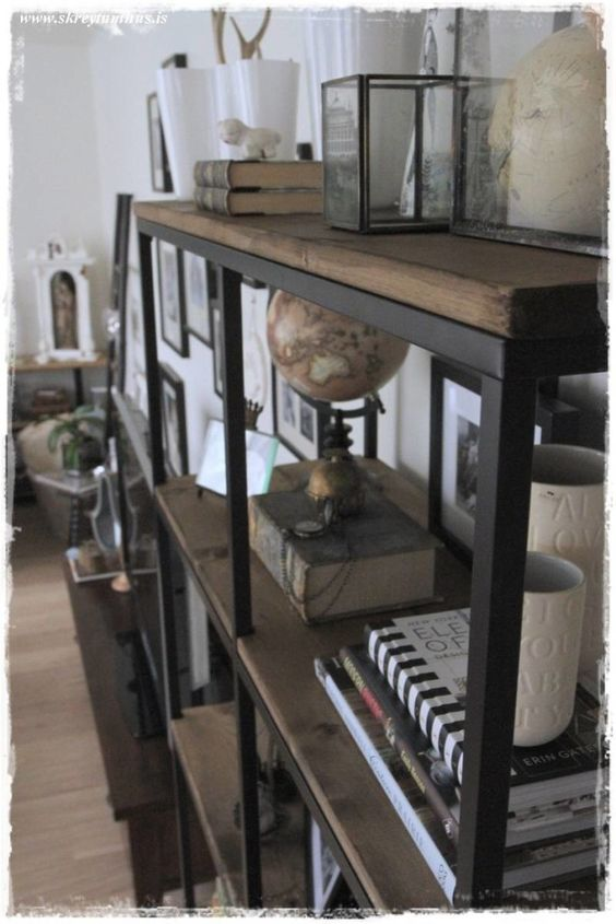 vittsj ikea hack rustic industrial yes please. Black Bedroom Furniture Sets. Home Design Ideas