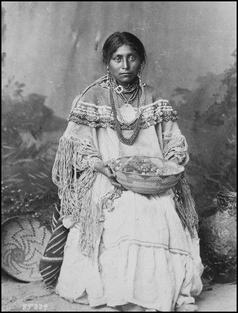 Traditional Cherokee Wedding Dress