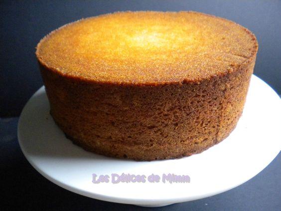 Recette Sponge Cake Garniture Chocolat