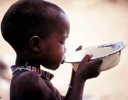 In Africa nearly one billion people do not  have access to clean, safe water. The waterproject,org website estimates that this equivalent to 1 in 8 people in the planet.