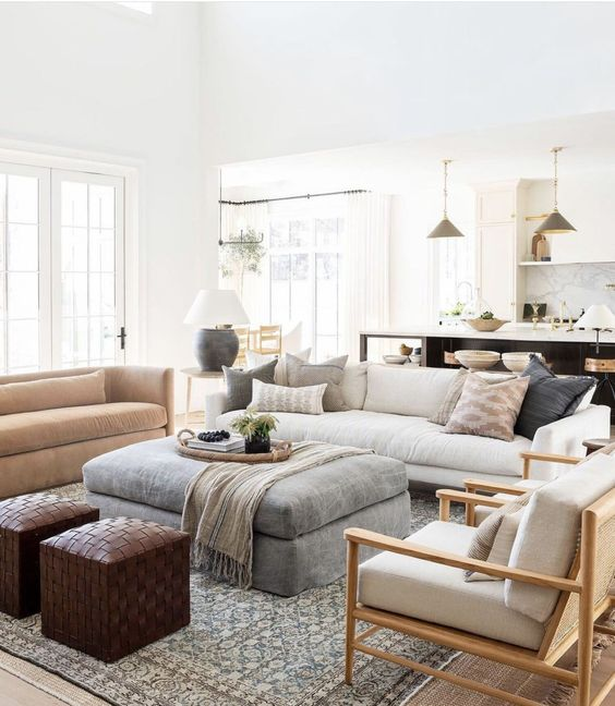 50+ Beautiful Living Room Home Decor 60