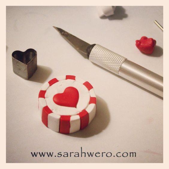 Making caramel millefiori in polymer clay! http://www.sarahwero.com