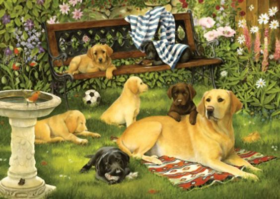 A Dog's Life jigsaw puzzle